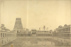 View of the Pagoda of Chelimbaram [Chidambaram] 82-b-3